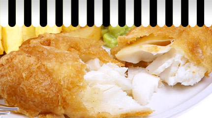 Whiteheads fish and chips - we care about our fish