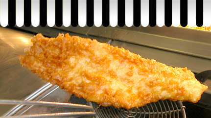 Whiteheads fish and chips - we care about how we cook your meal